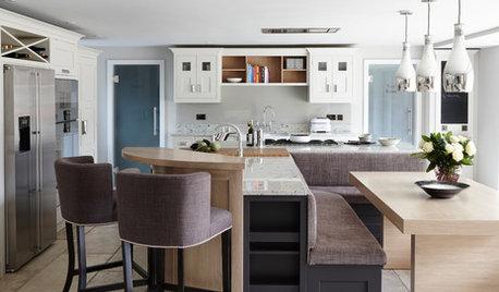 Kitchen Tour: A Luxurious, Timeless Scheme With an L-shaped Island