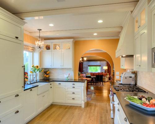 Mediterranean Galley Kitchen Design Ideas, Renovations