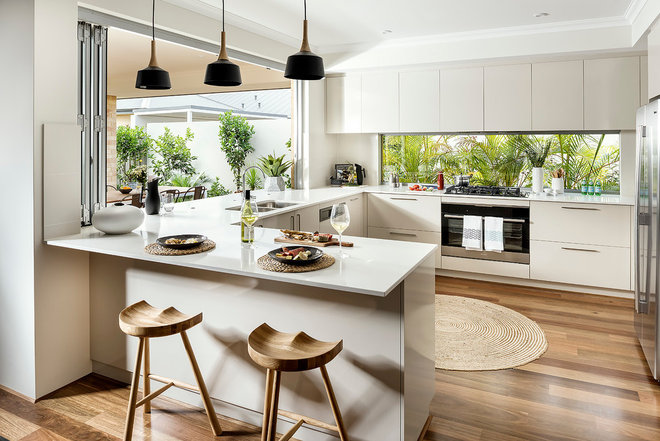 Contemporary Kitchen by Dale Alcock Homes