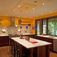 Mediterranean Kitchen by Colangelo Associates Architects