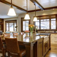 Craftsman Kitchen by Rockwood Custom Homes