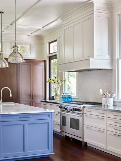Traditional Kitchen by RAO Design Studio, Inc.