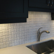 Eclectic Kitchen by Cercan Tile Inc.