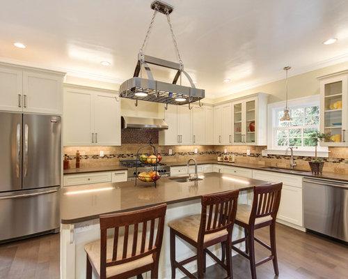Interesting Kitchen Backsplash Listello Idea In Portland With To Design Ideas
