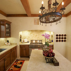 Mediterranean Kitchen by Ed Ritger Photography