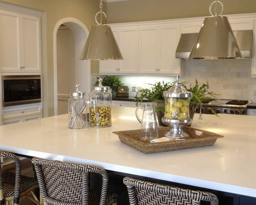 White Quartz Countertops Houzz