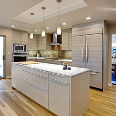 Contemporary Kitchen by Nar Fine Carpentry, Inc./Design.Build.Cabinetry