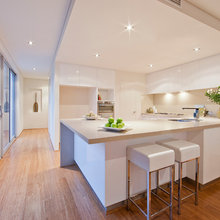 white mordern kitchen