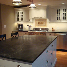 Traditional Kitchen by The Design Center at Ricci Lumber
