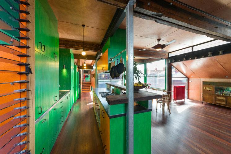 Industrial Kitchen by S2 design