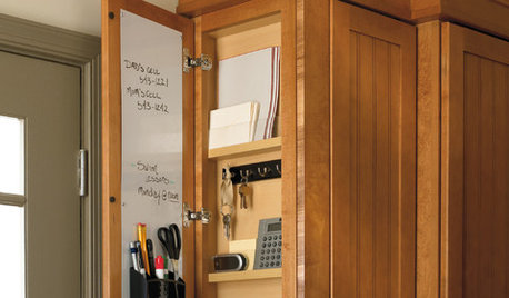 Shallow End Cabinets Offer a Sliver of Highly Functional Space