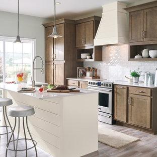Aristokraft Cabinetry: Two-Tone Modern Farmhouse Kitchen