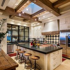 Mediterranean Kitchen by ArchitecTor, PC