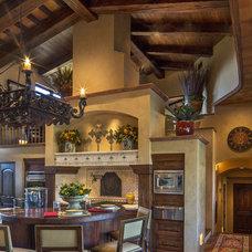 Southwestern Living Room by Urban Design Associates