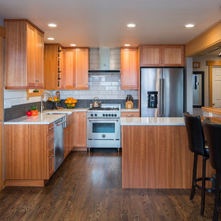 75 Most Popular Kitchen With Subway Tile Backsplash Design Ideas For - Subway-tile-backsplash-design