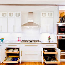 Transitional Kitchen by CR Cabinetry Kitchen & Bath Design Studio