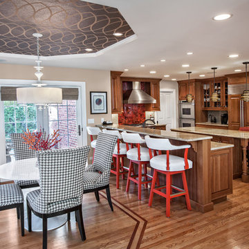 Arlington Heights - Making a Traditional Home more Transitional