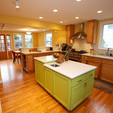 Contemporary Kitchen by New England Design & Construction