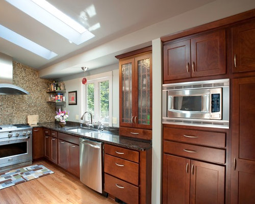 12 ceiling designs Small Craftsman Kitchen Design Photos with Light ...