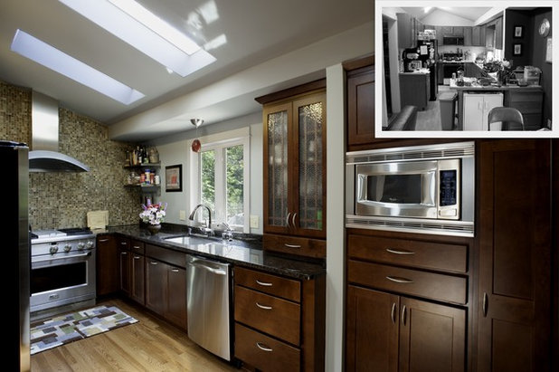 Traditional Kitchen by WINN Design+Build