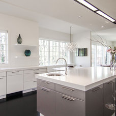 Contemporary Kitchen by MILLER/Custom Builders