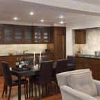 Oak Kitchen Cabinets | Dayton Door Style | CliqStudios - Contemporary - Kitchen - Minneapolis ...