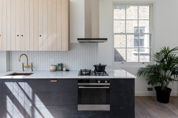 Scandinavian Kitchen by BLOCK Design & Build