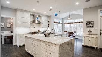 Arlington Transitional to Modern Kitchen