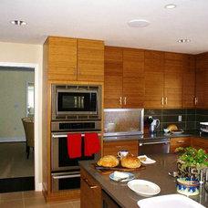 Contemporary Kitchen by Matthew Bowe Design Build, LLC