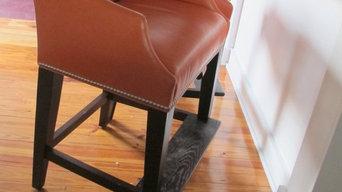 Armchair Comfort at the Breakfast Bar