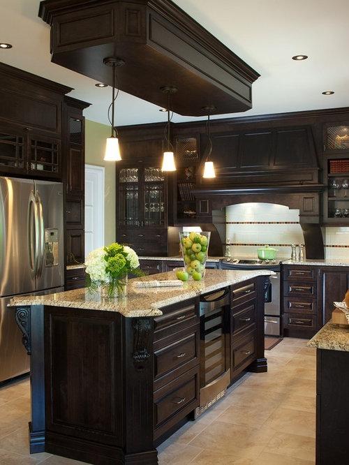 Cuisine classique home design ideas renovations photos for Cuisine classique