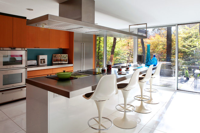 Contemporary Kitchen by Dlux Images