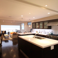 modern kitchen by Scott Bunney Architect