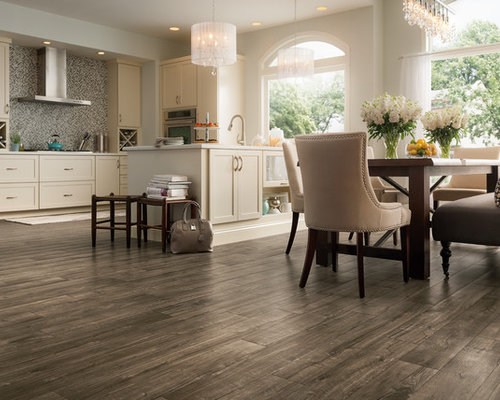 Grey Wood Floor Kitchen Ideas Photos Houzz