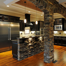 Eclectic Kitchen by Arnold Homes LLC