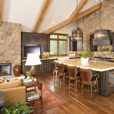 Traditional Kitchen by Holy Cross Custom Builders, LLC