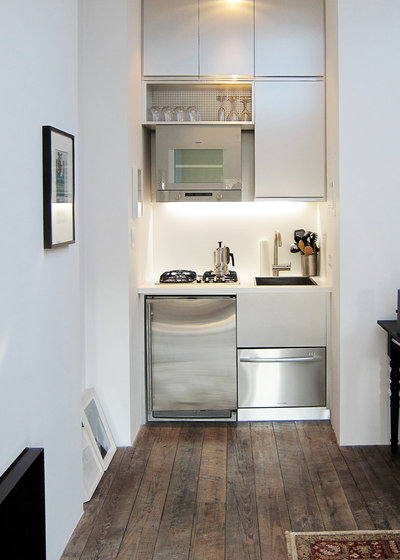 10 Tiny Micro Kitchens for Small Space Living