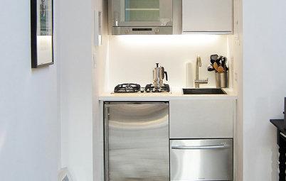 Läckra minikök på pyttesmå ytor