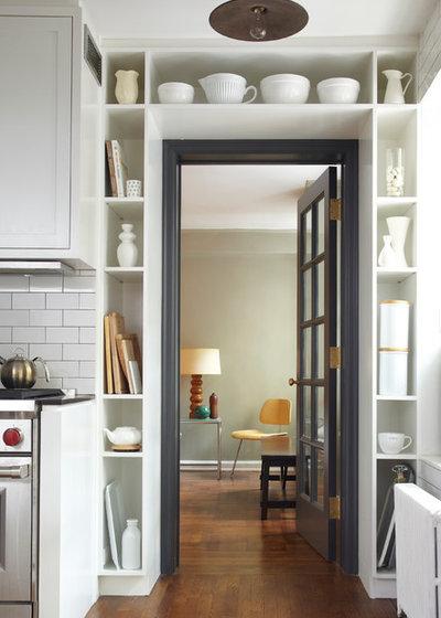 インダストリアル キッチン by Lauren Rubin Architecture