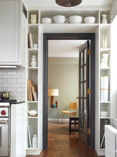 Industrial küchen mit küchenrückwand aus metrofliesen ideen ...