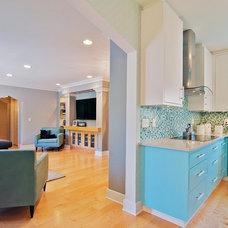 Contemporary Kitchen by Dan Waibel Designer Builder