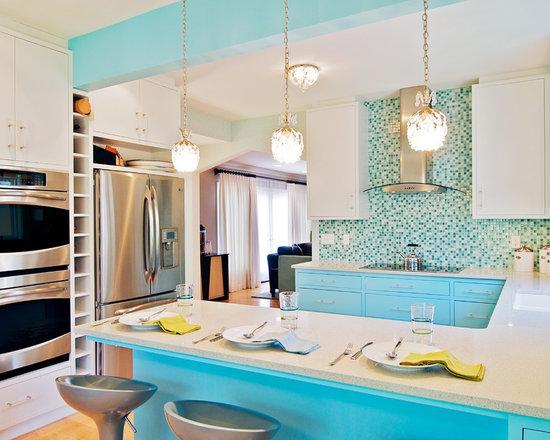 Cottage Style Kitchen Cabinets