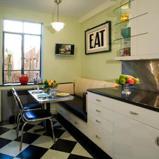 eclectic kitchen by tsida