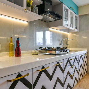 Traditional Kitchen Designs Example Of A Clic Design In Mumbai