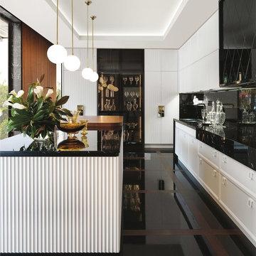 Art-Deco Style Italian custom kitchens