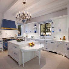 Traditional Kitchen by Uneek Glass Fusions