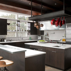 modern kitchen by DeForest Architects