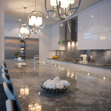 Contemporary Kitchen by Barroso Homes