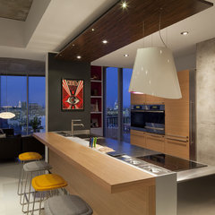 contemporary kitchen by Dick Clark Architecture