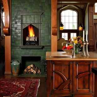 Art Nouveau Tudor Interior